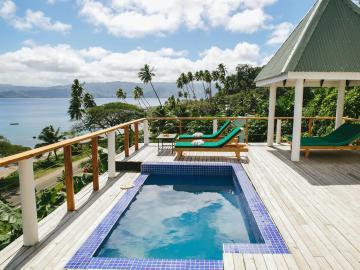 Viešbučio kambarys Fidžyje