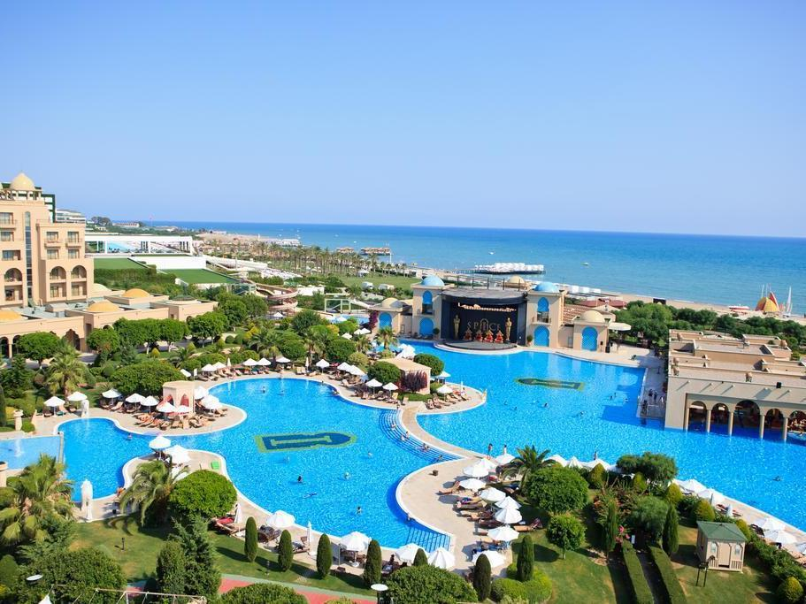 Spice Hotel Belek Pareri Top View