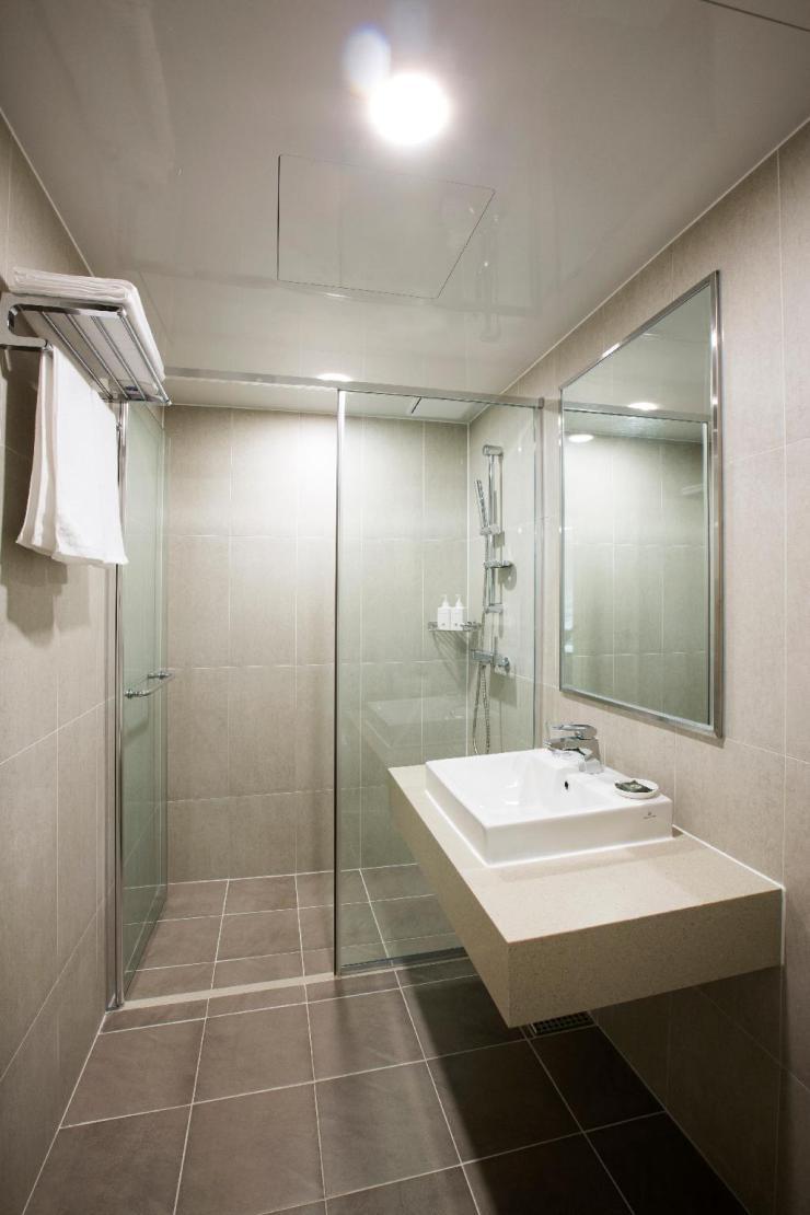 한화리조트 용인 베잔송 객실 내부 화장실