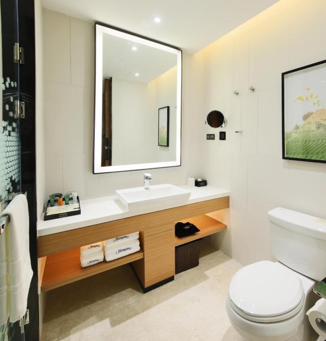 舒適房(大床) - 浴室