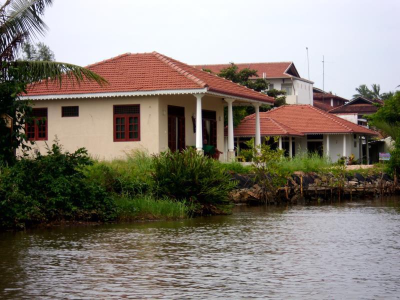 Canal Garden In Sri Lanka