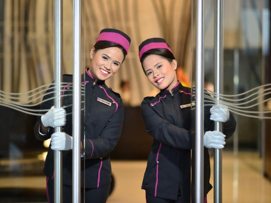 Image result for philippines hotel staff with big smile