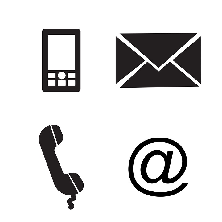 Vector Telephone Symbol, Vector, Free Engine Image For