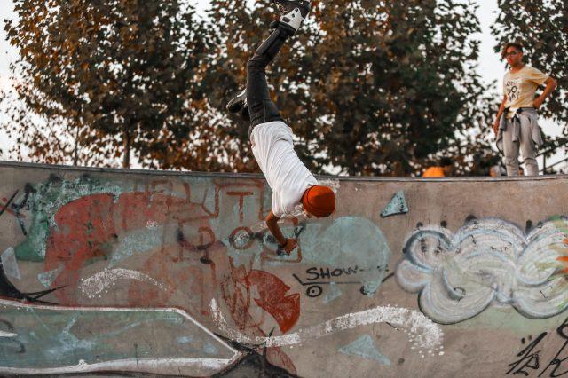 Skateboard Maneuvers and Flips