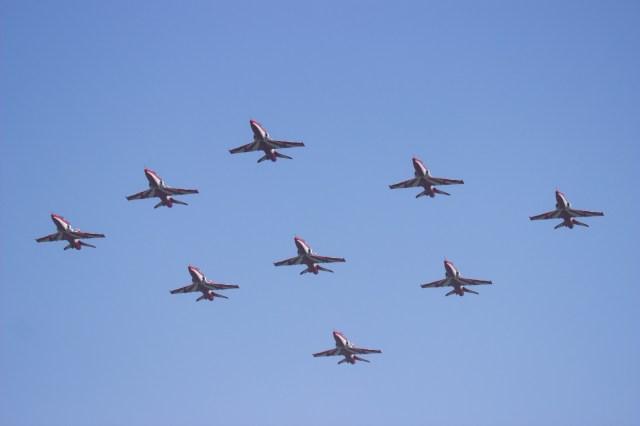 Suryakiran Formation at Airshow