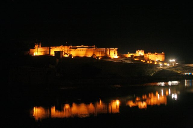 Night view of a Fort