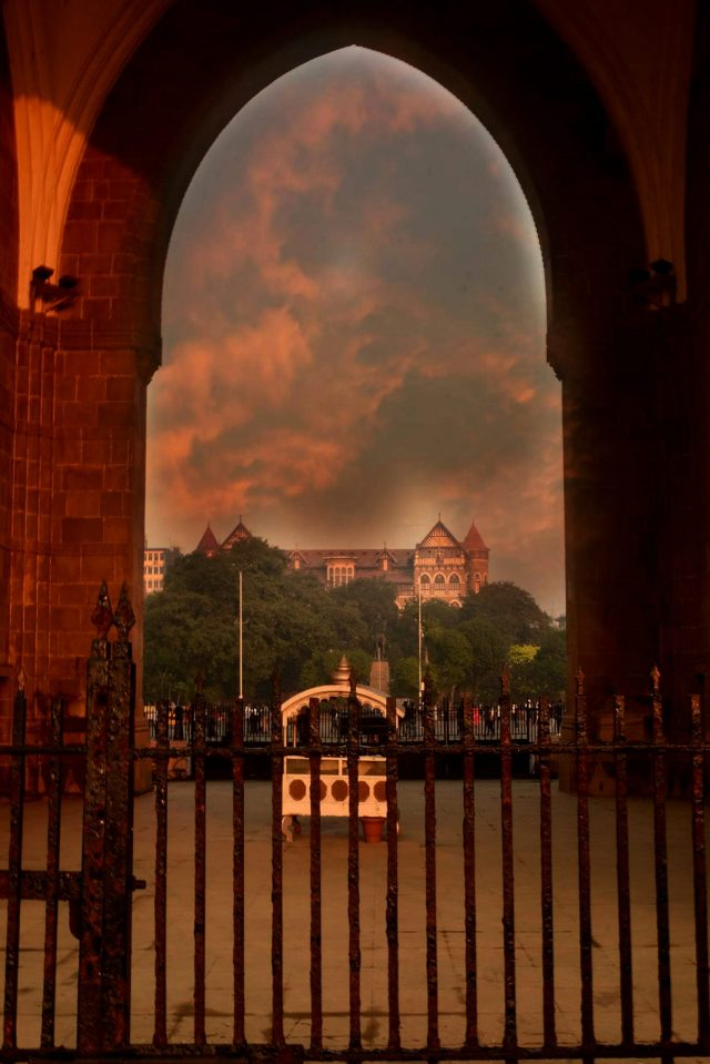 An Arch Gateway of India