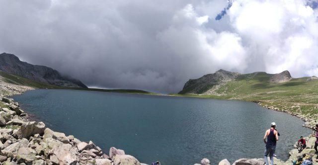 An alpine lake in Himalaya