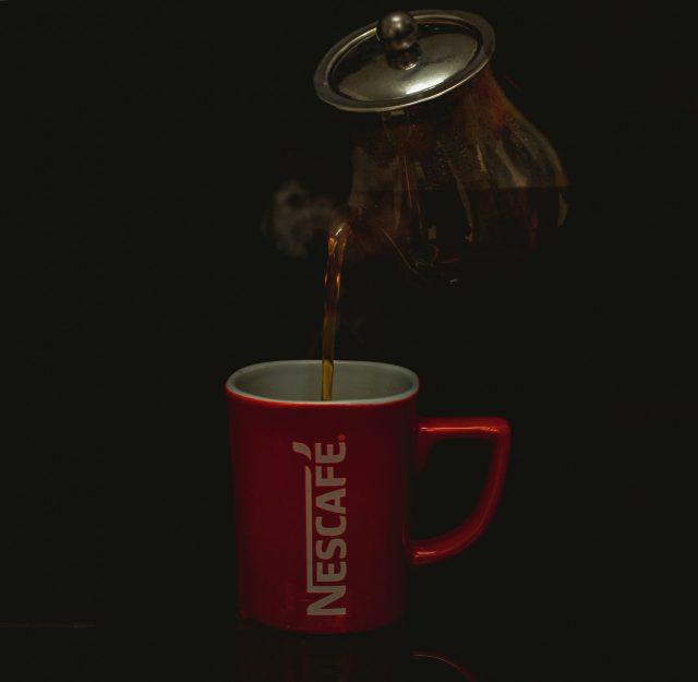 nescafe black coffee