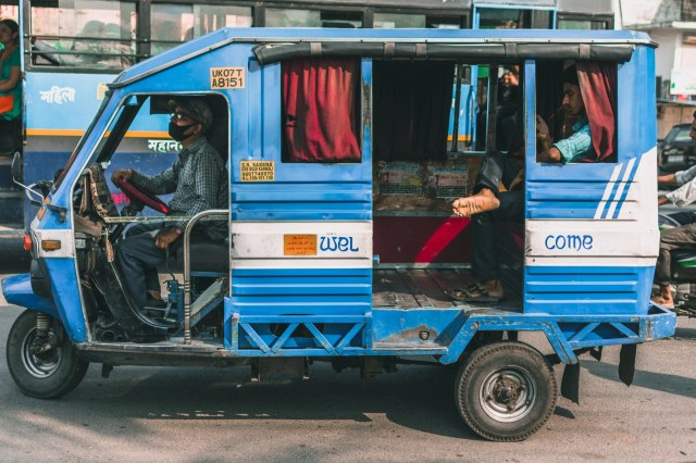 Commercial Vehicle on the Road