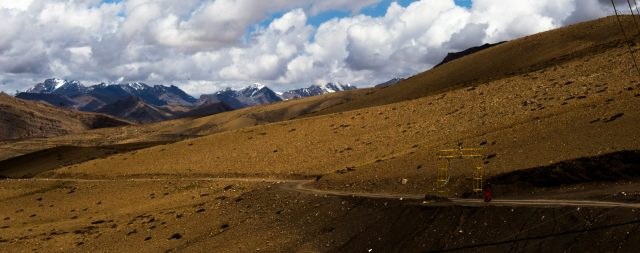 Mountain ranges of Hikkim.