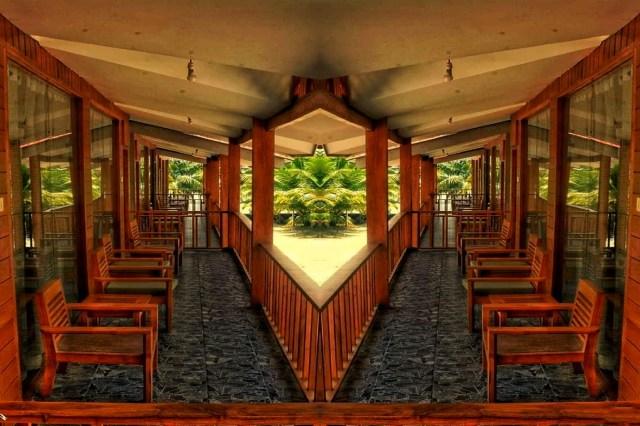Hotel Passage Mirror Image