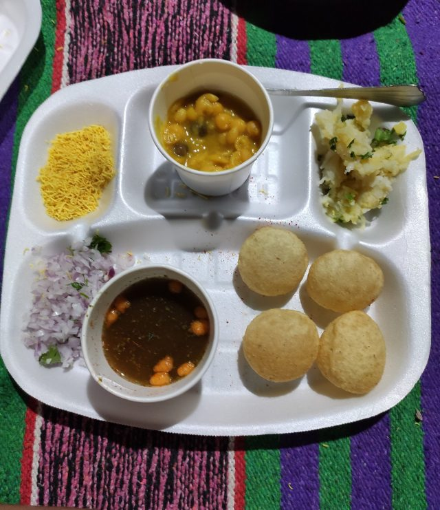 Indian Chaat Plate