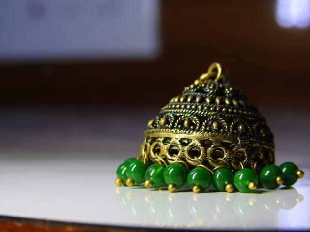 Indian female earring