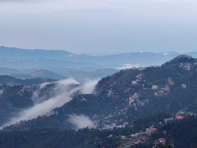 Misty Hills of Shimla