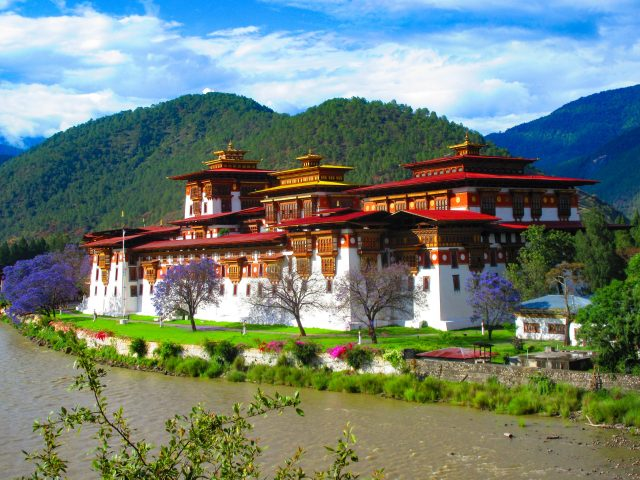 Palace of the King of Bhutan