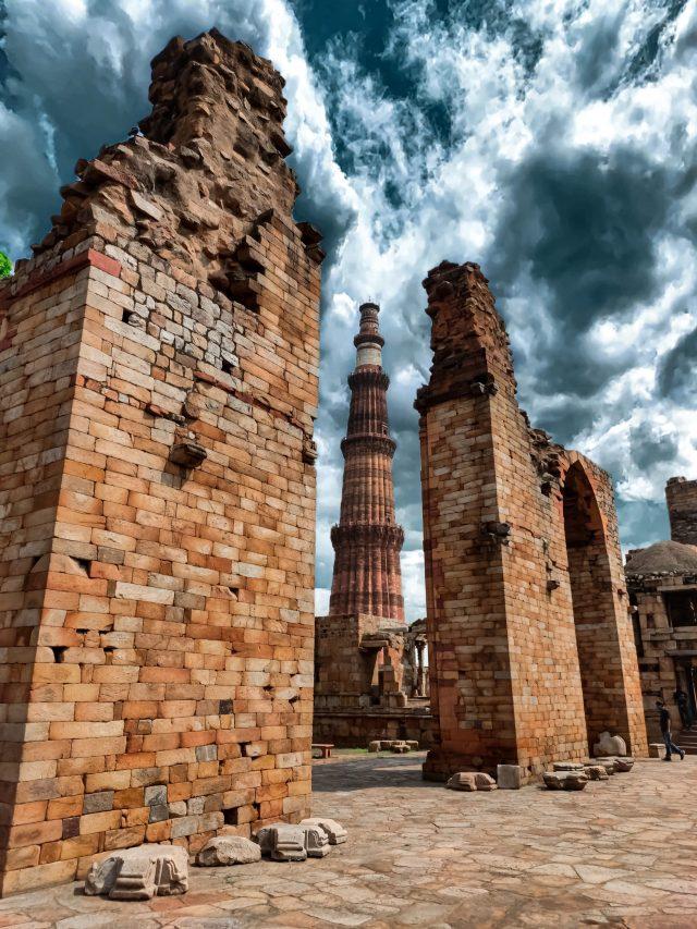 Ruins around Qutub minar