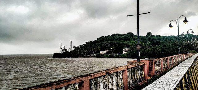 Sea side view