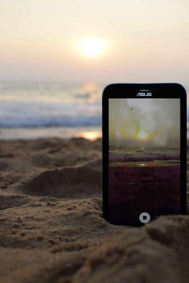 Gadget in the Beach Sand