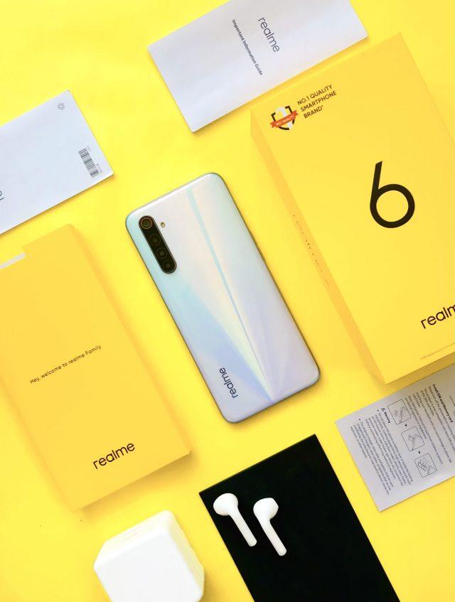 A brand new smartphone