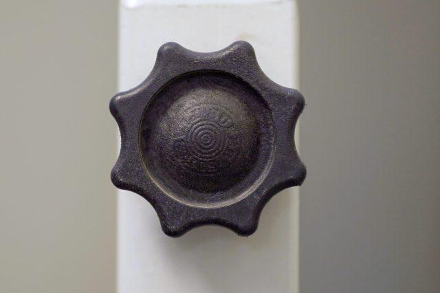 A knob of a tap