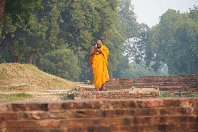 monk photographer