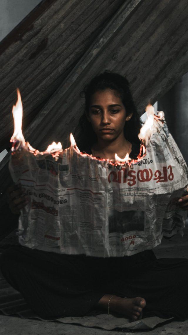 Fire up news paper
