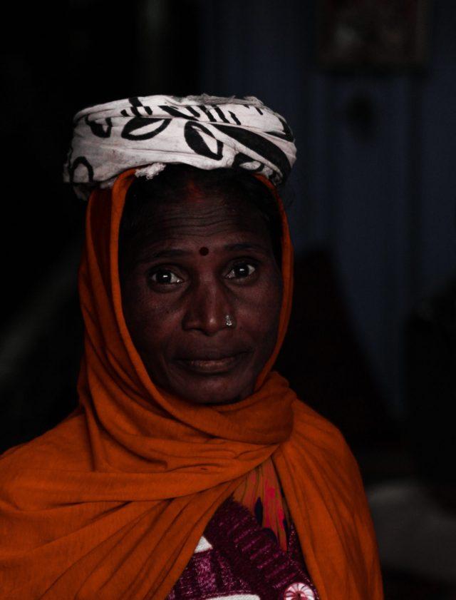 A lady worker