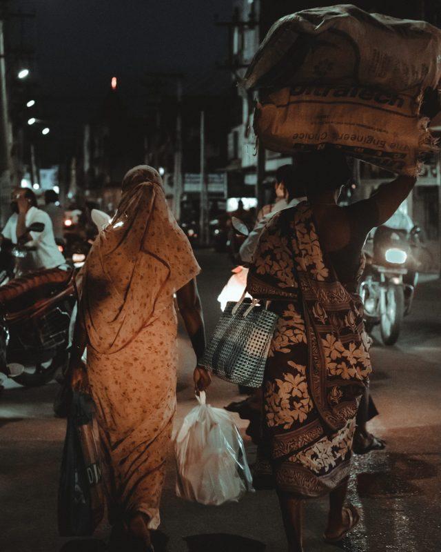 Women carrying load