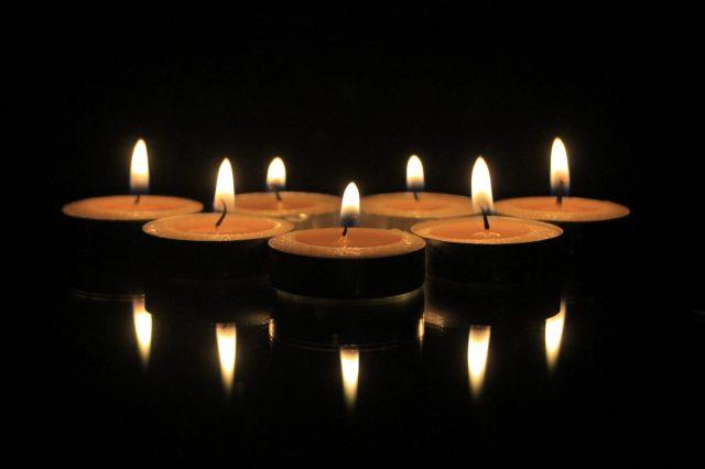 Oil lamps for Diwali celebration