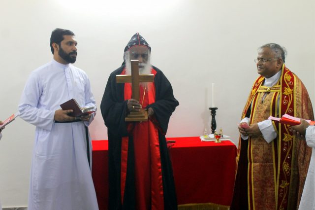Priests of an church