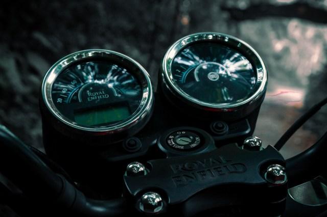 Speedometer of a bike