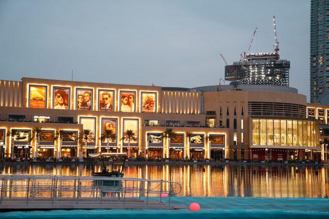 A building in Dubai