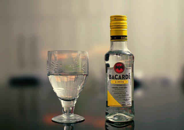 Snap of a Bacardi lemon