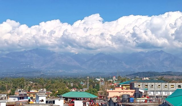 Cloudy Cityscape