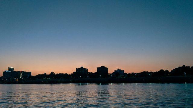Sabarmati Riverfront in Ahmedabad, Gujarat