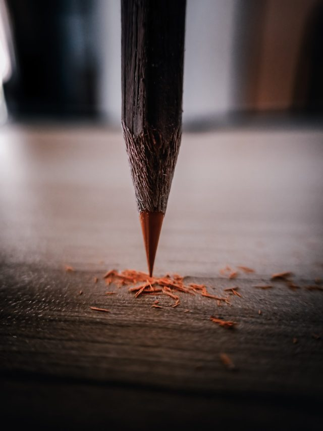 Sharp point of Pencil