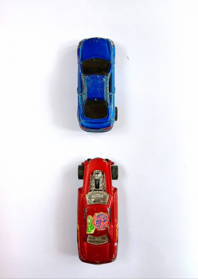Toy Model Car and Sports Car
