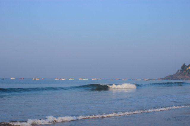 Sea waves at beach