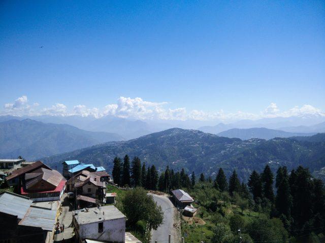 A village on mountain