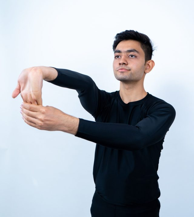 Fingers Stretch exercise