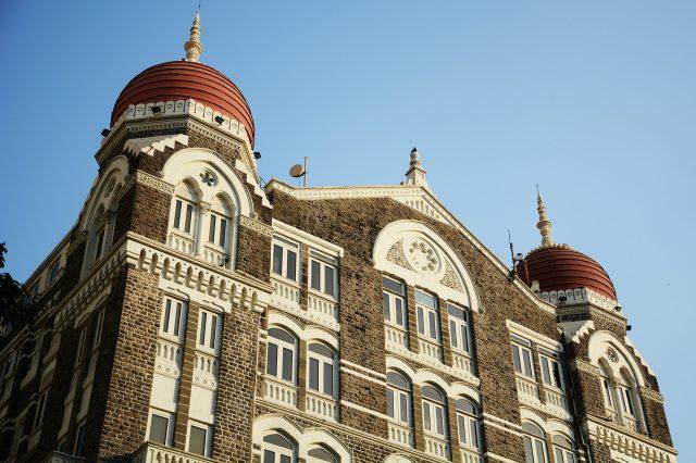 Front side of Hotel Taj Mahal Palace