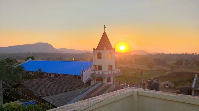 Sunlight on Church building