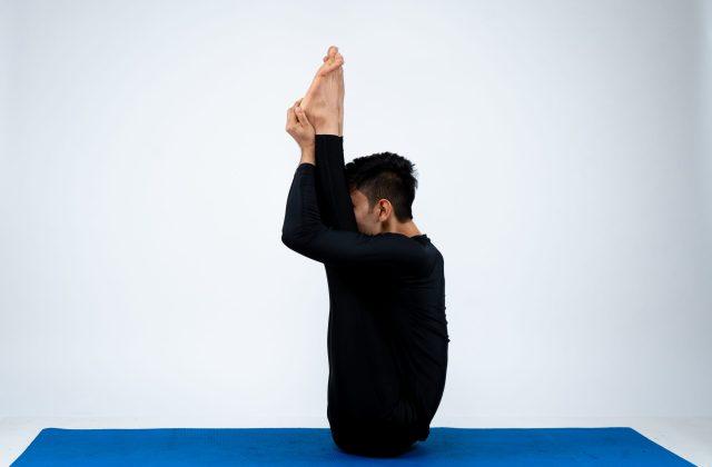 Utith Padahastasana (Opposite hand to foot pose)