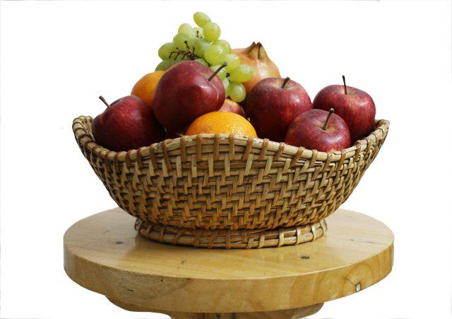 A fresh fruits basket