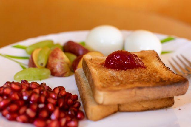 Bread and Jam Breakfast