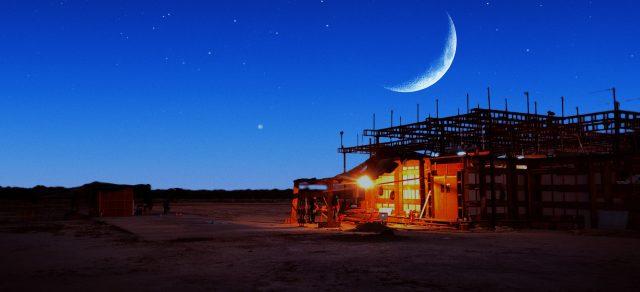 House under the half moon