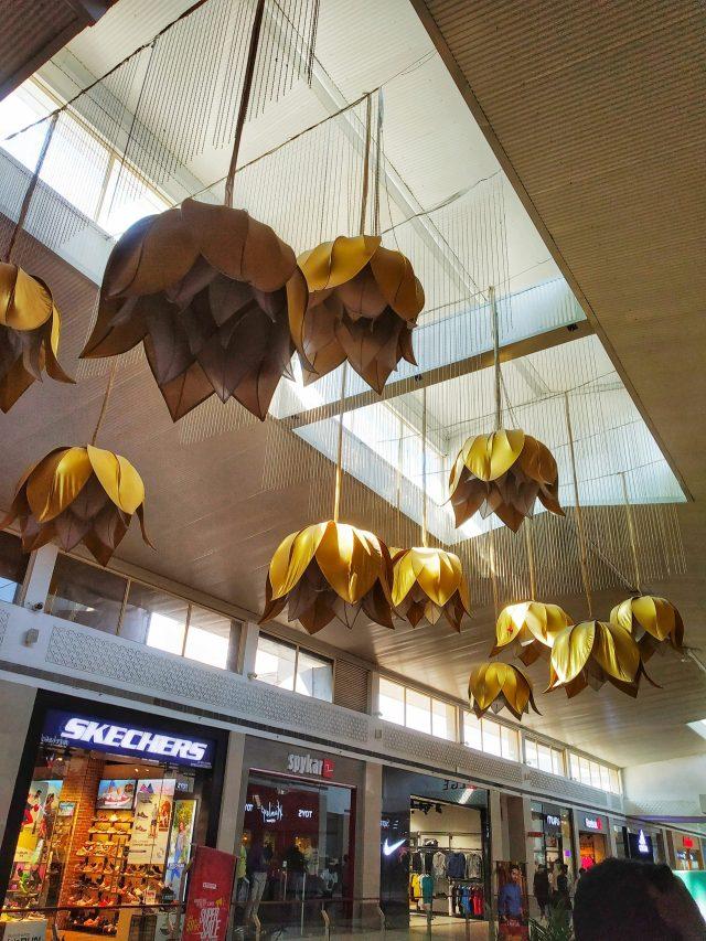 Interior of a mall