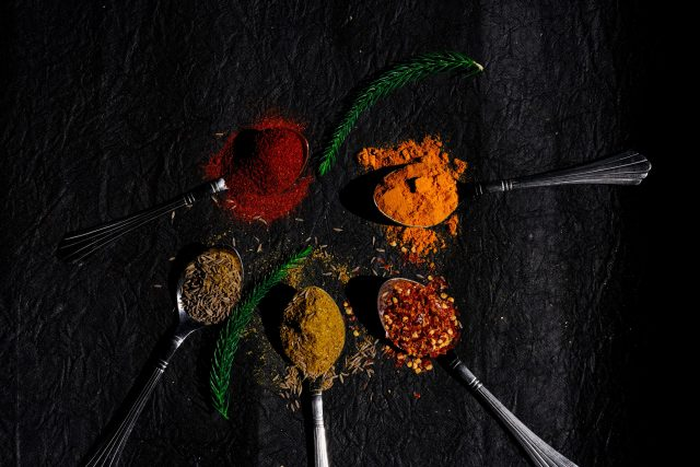 Spices and ingredient