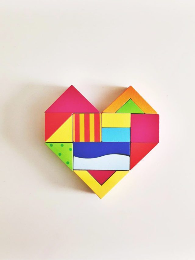 A heart shape